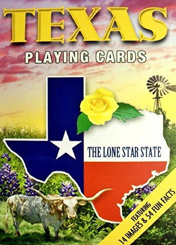 Texas the Lone Star State Playing Cards