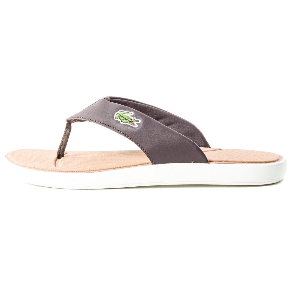 a8f1eaa320 Lacoste Homme L.30 116 2 SPM Flip Flops, Marron, 39.5: Amazon.fr:  Chaussures et Sacs