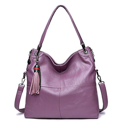 Hombro Nuevo Estilo Gran Violet Gules Capacidad Paquete De Sesgar Bolso GWQGZ Solo De En Señora Empalme Casual qIApnHYx