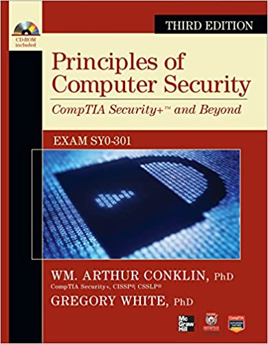 Principles of computer security comptia security and beyond with principles of computer security comptia security and beyond with cdrom official comptia guide 3rd edition fandeluxe Choice Image