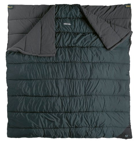 Outbound Double Trouble 2 Person 25 Degree Sleeping Bag (Grey, Large), Outdoor Stuffs