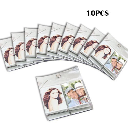 10pcs Total 100 Pockets 3 inch Wall Hang Photo Mini Album Set for Instax Mini 70 8 7s 25 50s 90 Films Camera