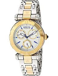 Invicta Womens Subaqua Quartz Stainless Steel Casual Watch, Color:Two Tone (Model: 24464)