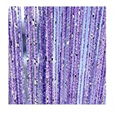 ave split Decorative Door String Curtain Wall Panel Fringe Window Room Divider Blind Divider Tassel Screen Home 100x200centimete (Light Purple18)