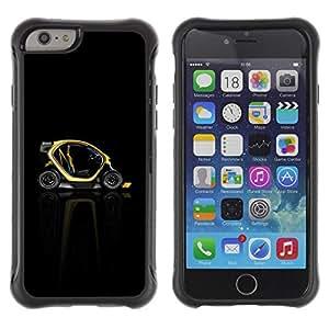 Suave TPU GEL Carcasa Funda Silicona Blando Estuche Caso de protección (para) Apple Iphone 6 PLUS 5.5 / CECELL Phone case / / Abstract Minimalist Smart Car /