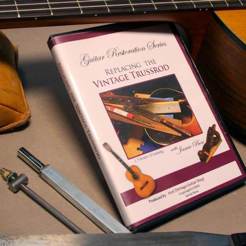 Guitar Restoration Series...Replacing the vintage guitar truss (Vintage Truss Rod)