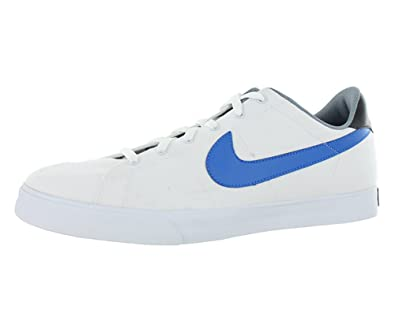 Men's White/Blue/Grey Sweet Classic Canvas Fashion Sneaker US 6