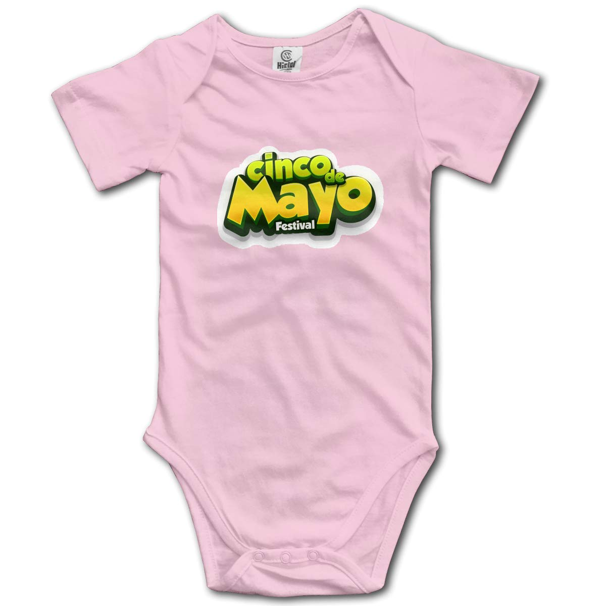 CHETI Punisher American Flag Newborn Infant Toddler Baby Girls Boys Bodysuit Short Sleeve 0-24 MonthsGray