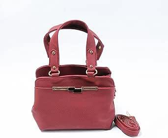 Bag For Women,Dark Red - Top Handle Bags