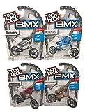 Nozlen Toys Bundle: Tech Deck Series 5 BMX Bikes Set of 4 - WeThePeople and Sunday with Bonus Bag