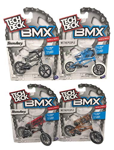 Nozlen Toys Bundle: Tech Deck Series 5 BMX Bikes Set of 4 - WeThePeople and Sunday with Bonus Bag by Nozlen Toys (Image #8)