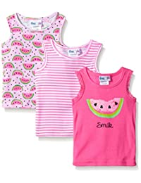 "Freestyle Revolution Little Girls' Toddler ""Watermelon"" 3-Pack Tank Tops"
