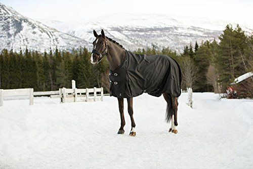 Horze Nevada 1200D Waterproof Turnout Sheet - Black - Size: 75