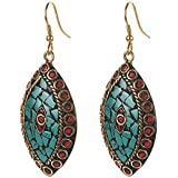 Zephyrr Multicolor Non-Precious Metal Dangle & Drop Earrings For Women