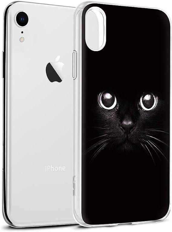 Phone Cases Cat Back cover Black APPLE