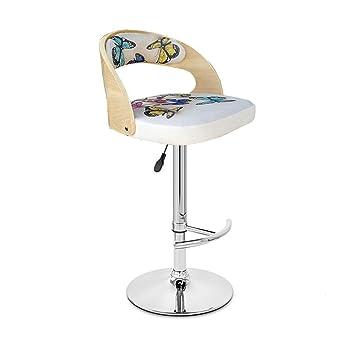 Astounding Amazon Com Yi Kui Fashion Solid Wood Bar Chair Backrest Bar Alphanode Cool Chair Designs And Ideas Alphanodeonline