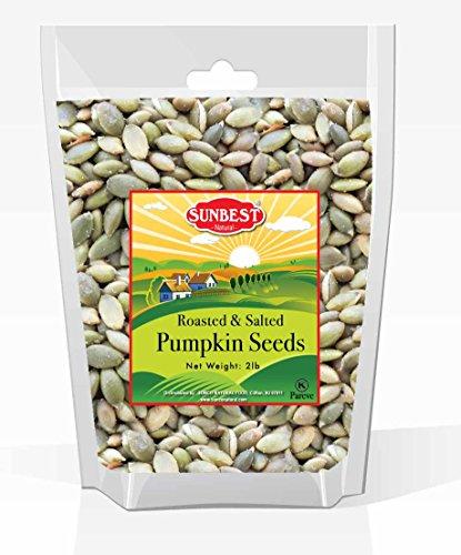 roasted and salted pumpkin seeds - 3