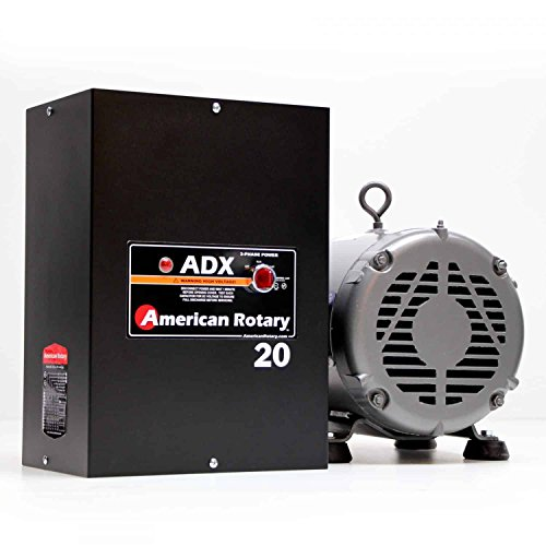 10 HP Welder American Rotary Phase Converter, 240 VAC Single