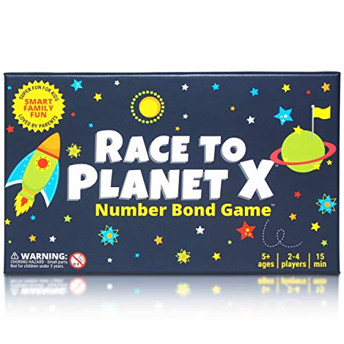 Race to Planet X: Number Bond Game - Math Games for Kindergarten, First Grade - Learn Addition Subtraction with a Super Fun Board Game (Best Little Big Planet Game)