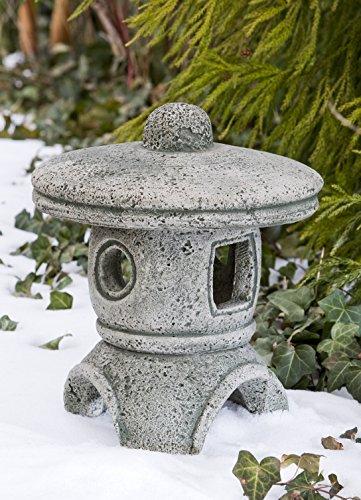 Campania International OR-24-EM Rustic Pagoda Statue, Medium, English Moss Review