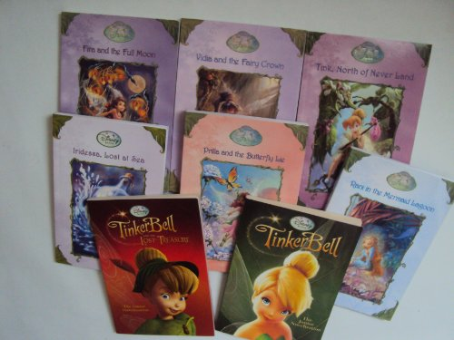 Tales From Pixie Hollow Collection: Prilla & the Butterfly Lake; Tink, North of Never Land; Vidia and the Fairy Crown; Rani in Mermaid Lagoon; Irdessa, Lost At Sea; Fira and the Full Moon (Book Sets for Girls) ()