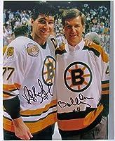 Bobby Orr & Raymond Bourque Autographed 8x10 Photo