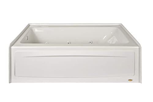 Jacuzzi J1s6032wrl1xxw Signature Three-Wall Whirlpool Bathtub