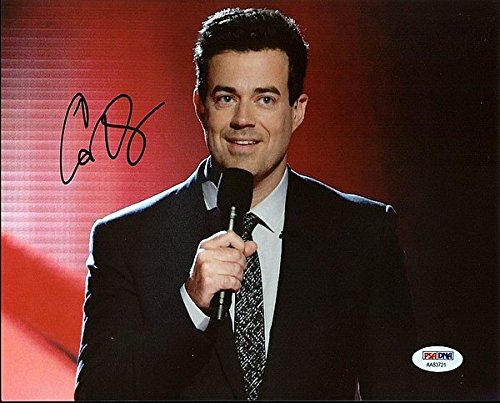 Carson Daly Last Call with Carson Daly Signed 8 x 10 Photograph - PSA/DNA Authenticated