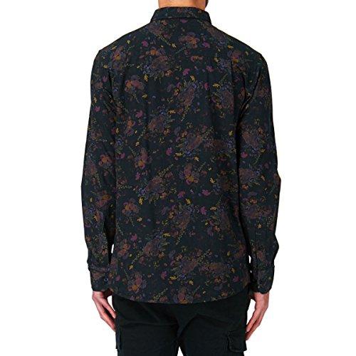 Globe Hemd ROSE SHIRT black