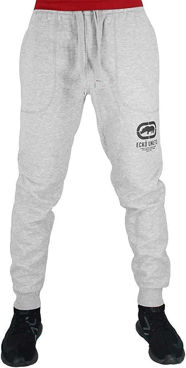 Ecko Hombre Algodón de Diseño Jogger Chándal Pantalones de Chándal ...