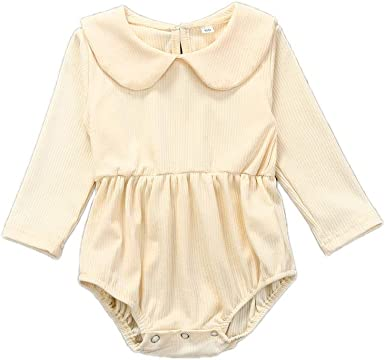 Pants Bodysuit 2PCS Newborn Baby Girls Outfit Set Clothes Lace Ruffle Top Dress