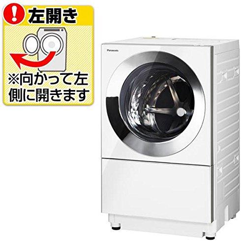 パナソニック 10.0kg ドラム式洗濯機【左開き】シルバーPanasonic Cuble キューブル エコナビ ナノイー 温水泡洗浄 NA-VG1000L-S
