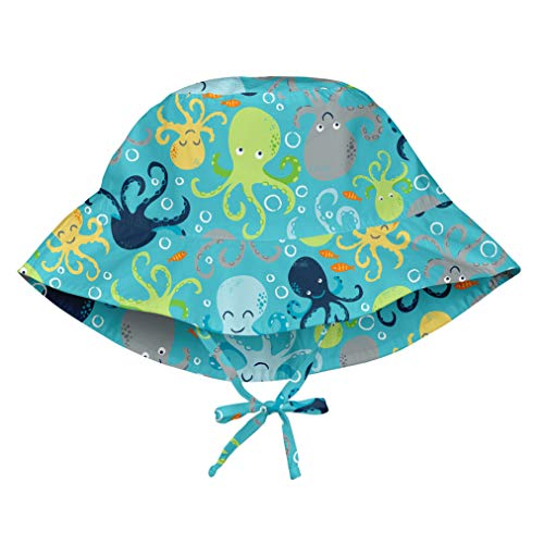 ua Octopus Print Bucket Hats with Toggle 9mo-18mo, 9mo/18mo ()