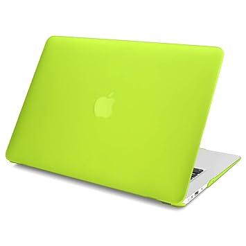 Batianda Funda Caso Mate de plástico para MacBook Pro 15 Pulgadas CR ROM Case Cover Carcasa rígida Protector de plástico Cubierta A1286 - Amarillo ...