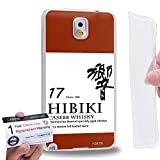 Case88 [Samsung Galaxy Note 3] Gel TPU Phone case & Warranty Card - Art Fashion Design 17 years old Hibiki 17 Kancolle Art4016