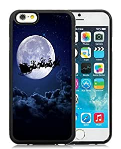 Best Buy Design iPhone 6 Case,Merry Christmas Black iPhone 6 4.7 Inch TPU Case 30