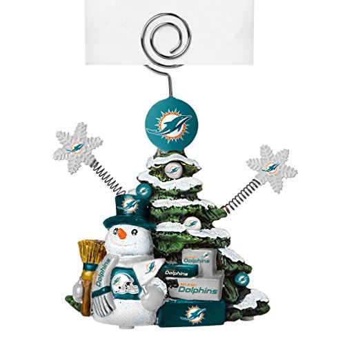 NFL Miami Dolphins Tree Photo Holder