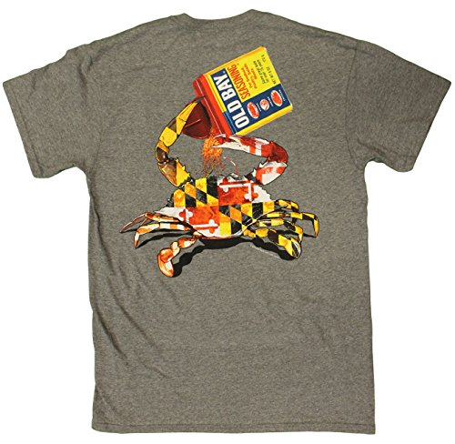 Maryland My Maryland Men's Officially Licensed Old Bay Open Can T-Shirt (Medium)