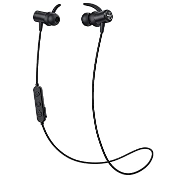 Mpow Auriculares Deportivos inalámbricos Bluetooth, micrófono ...