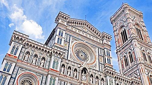 Italy Tuscany Toscano Italian - Home Comforts Peel-n-Stick Poster of Duomo City Italy Tuscany Toscana Italian Church Vivid Imagery Poster 24 x 16 Adhesive Sticker Poster Print
