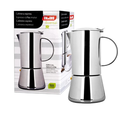 IBILI 620304 ESPRESSO COFFEE MAKER ESSENTIAL INOX 4