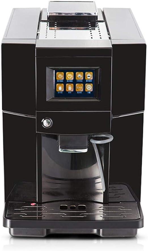 KOUDAG Cafetera Cafetera de Capuchino Comercial de 19 Bar Cafetera Totalmente automática Cafetera Espresso LCD y Molinillo de café: Amazon.es: Hogar