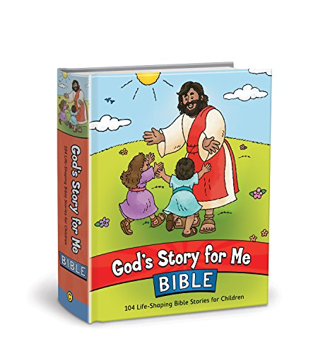God's Story for Me Bible: 104 Life-Shaping Bible Stories for Children from David C Cook