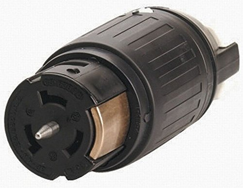 Hubbell CS6364C Locking Connector, 50 amp, 125/250V, 3 Pole and 4 Wire