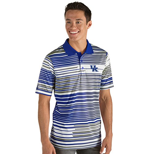 University Kentucky Jersey - Zokee University of Kentucky Men's Stunner Jersey Polo (X-Large)