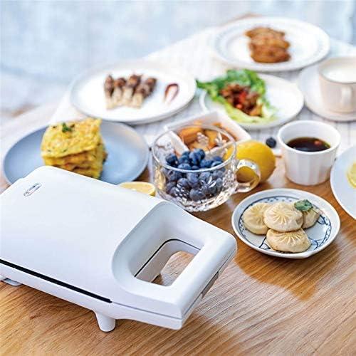 Zhang Xiaoyu Mini Sandwich machine Cuisine Petit déjeuner Machine à pain Grille-pain courbé Surface Friture Egg Maker Accueil Utilisation
