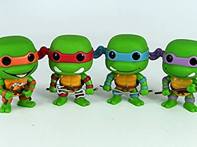 Review: TMNT Funko Pop! Vinyl Figures Collection Review (Turtles Only)