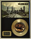 #5: Walking Dead Limited Edition Gold 45 Record Display. Only 500 made. Limited quanities. FREE US SHIPPING