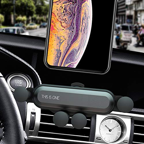 Car Phone Holder, Car Phone Mounts, ANIKUV Car Gravity Vent Phone Holder, Cell Phone Holder for Suitable for All Kinds of Smartphones from 4.7 to 6.7 inches