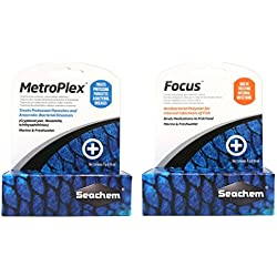 Seachem Aquarium Water Treatment Set - MetroPlex & Focus (5g Each)